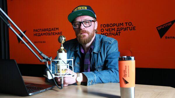 Фронтмэн гурта Стокс Аляксей Стокс - Sputnik Беларусь