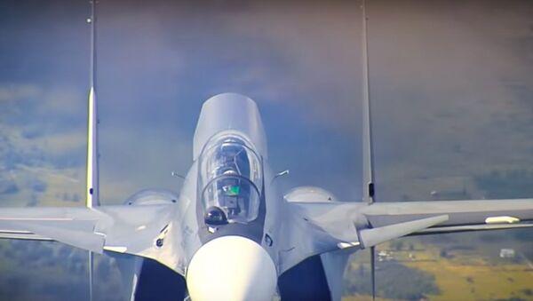 Што можа знішчальнік Су-30см, які купляе Беларусь – відэа - Sputnik Беларусь