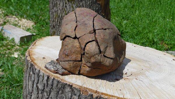 Исследователь–энтузиаст из Витебска утверждает, что нашел фрагмент метеорита - Sputnik Беларусь