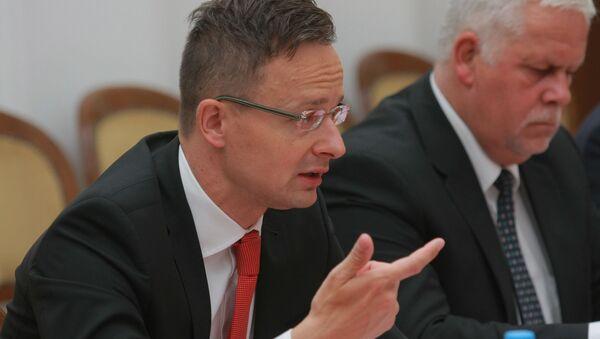 Министр иностранных дел и внешней торговли Венгрии Петер Сийярто - Sputnik Беларусь