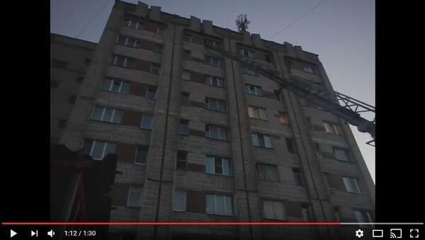 МНС апублікавала відэа выратавання дзіцяці ў Рэчыцы - Sputnik Беларусь