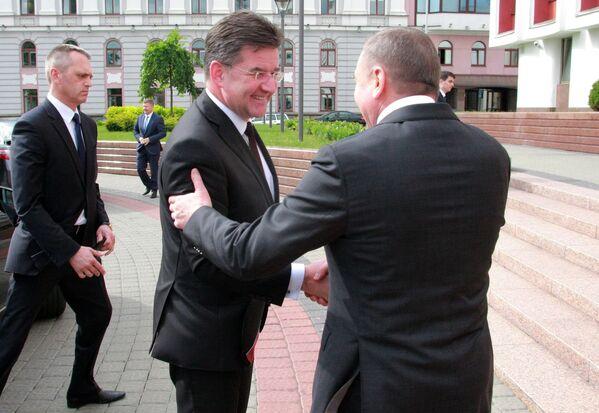 Встреча министров иностранных дел Беларуси и Словакии. - Sputnik Беларусь