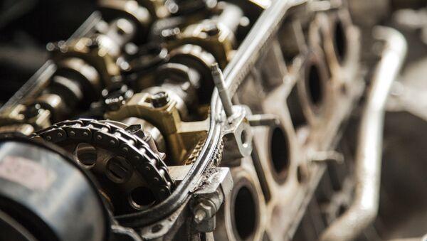 Автомобильный двигатель, архивное фото - Sputnik Беларусь