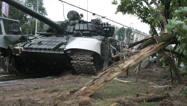 ДТП с танком в Минске - Sputnik Беларусь