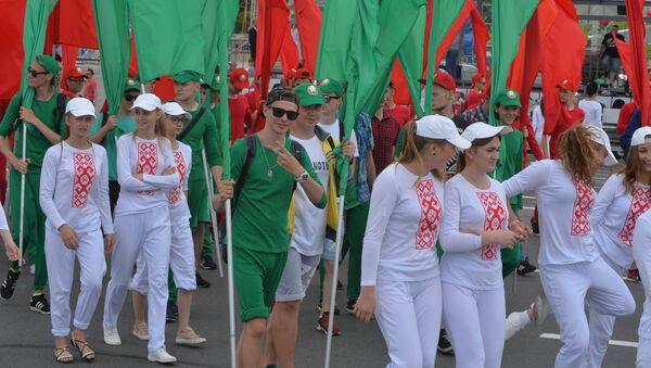 Репетиция парада ко Дню Независимости в Минске - Sputnik Беларусь