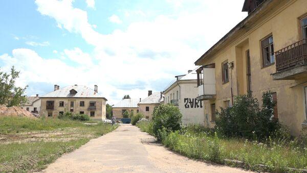 Тракторный поселок, архивное фото - Sputnik Беларусь