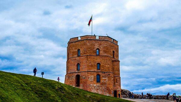 Вежа Гедыміна, архіўнае фота - Sputnik Беларусь