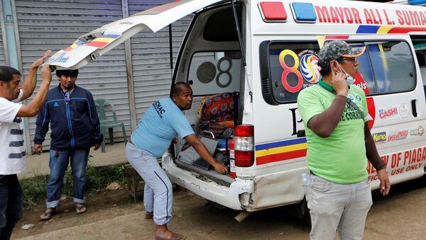 Машина скорой помощи на Филиппинах - Sputnik Беларусь