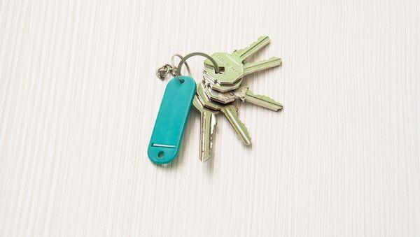 Ключи от квартиры, архивное фото - Sputnik Беларусь