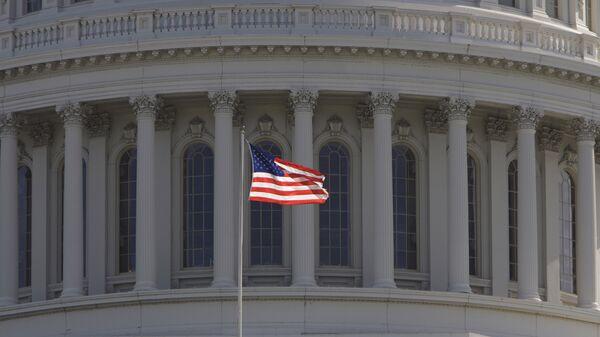 Фрагмент Капитолия Вашингтона, архивное фото - Sputnik Беларусь