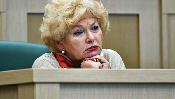 Член Совета Федерации РФ Людмила Нарусова - Sputnik Беларусь