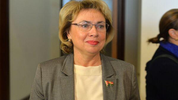 Марианна Щеткина рассказала, что чаще всего в Беларуси женщины  реализуют себя в бюджетной сфере - Sputnik Беларусь