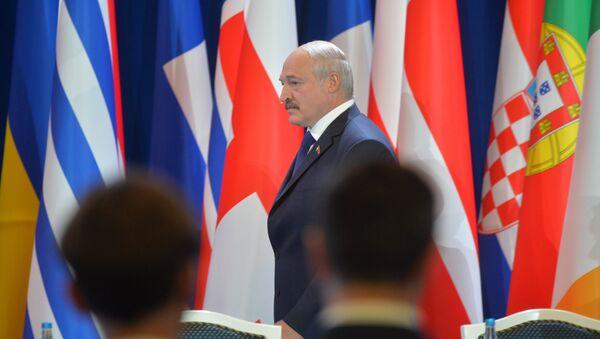 Александр Лукашенко на открытии летней сессии ПА ОБСЕ - Sputnik Беларусь