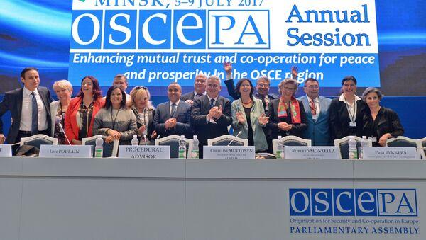 Сессия ПА ОБСЕ в Минске - Sputnik Беларусь
