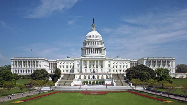 Капитолий - здание Конгресса США в Вашингтоне - Sputnik Беларусь