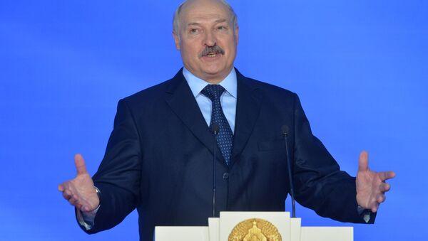 Александр Лукашенко на открытии Славянского базара в Витебске - Sputnik Беларусь