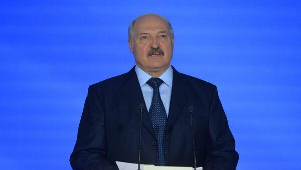 Аляксандр Лукашэнка на адкрыцці Славянскага базабу - Sputnik Беларусь