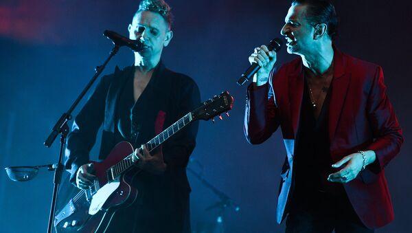 Гурт Depeche Mode, архіўнае фота - Sputnik Беларусь