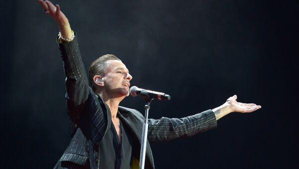 Саліст гурта Depeche Mode Дэйв Гaан - Sputnik Беларусь