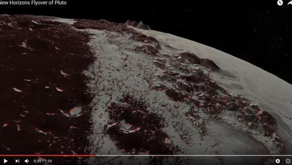 Відэафакт: касмічны зонд аблятае Плутон і яго спадарожнік - Sputnik Беларусь