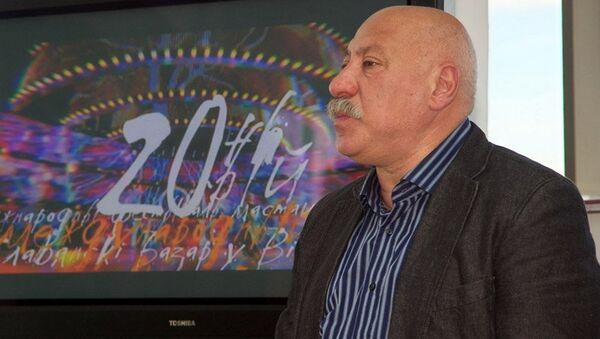 Радзівон Бас на прэс-канферэнцыі 19 мая 2011 года - Sputnik Беларусь