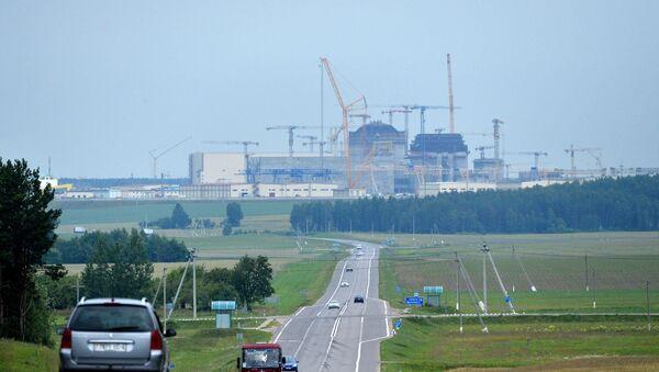 Будаўніцтва БелАЭС - Sputnik Беларусь