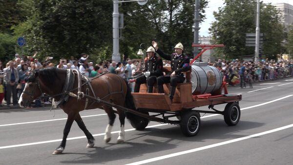 Свята да Дня пажарнай службы - Sputnik Беларусь
