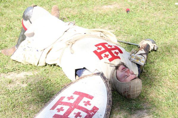 Ульрых фон Юнгінген паў на полі бою, як і 15 ліпеня 1410 года пад Грунвальдам. - Sputnik Беларусь