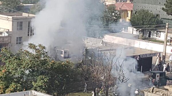 Вид на место взрыва в Кабуле - Sputnik Беларусь