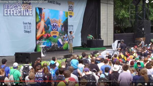 Создателя Pokemon GO освистали на праздновании годовщины игры - Sputnik Беларусь