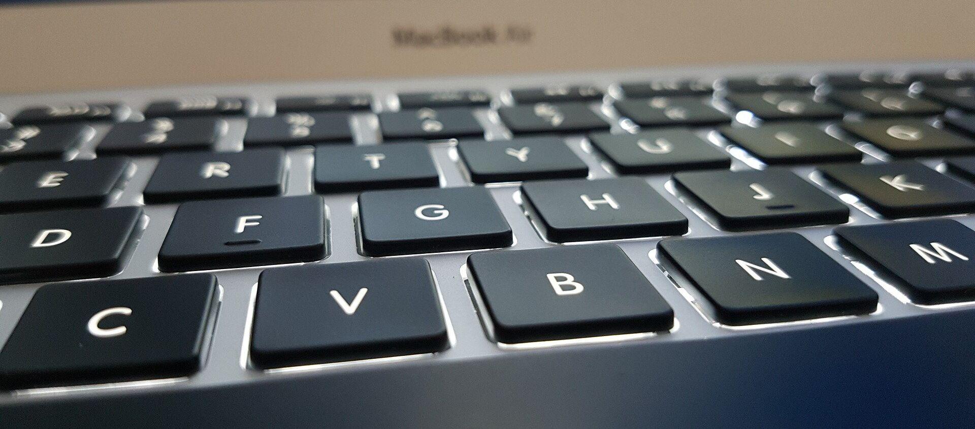 Клавиатура ноутбука, архивное фото - Sputnik Беларусь, 1920, 12.04.2021