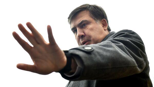 Экс-президент Грузии Михаил Саакашвили - Sputnik Беларусь