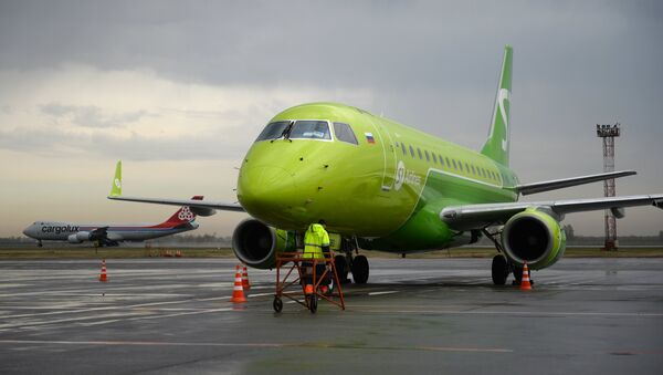 Самолет авиакомпании S7, архивное фото - Sputnik Беларусь