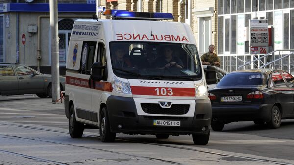Скорая помощь на улице Киева, архивное фото - Sputnik Беларусь