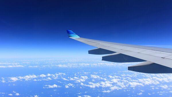 Крыло самалёта, архіўнае фота - Sputnik Беларусь