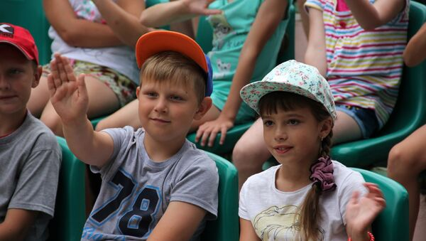В Родничке ждут сирийских детей - Sputnik Беларусь