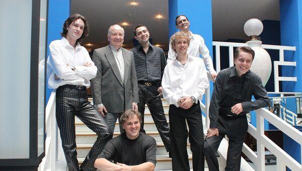 Павел Слободкин с ВИА Веселые ребята, 21 июня 2011 года - Sputnik Беларусь