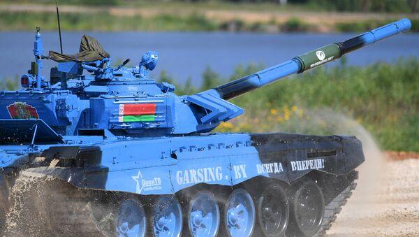 Белорусские танкисты в полуфинале танкового биатлона - Sputnik Беларусь
