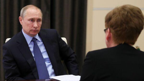 Путин встретился с губернатором Забайкальского края - Sputnik Беларусь