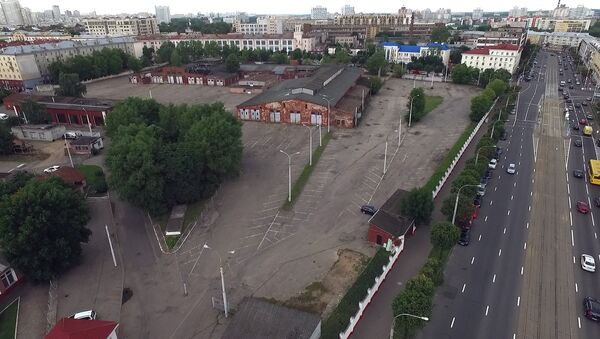 Троллейбусное депо в центре Минска - Sputnik Беларусь