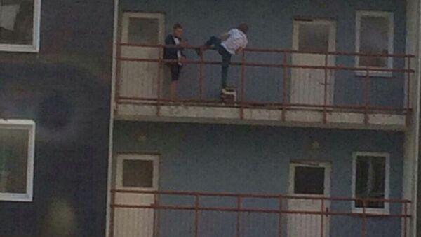 Сэлфі на балконе - Sputnik Беларусь