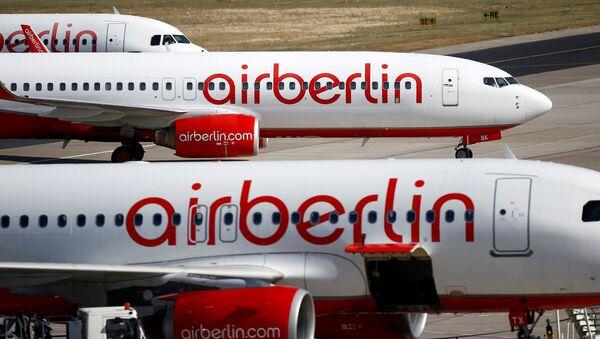 Самалёты авіякампаніі Air Berlin - Sputnik Беларусь