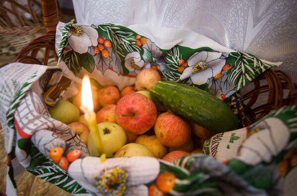 Яблочный спас в деревне Засковичи Молодечненского района - Sputnik Беларусь