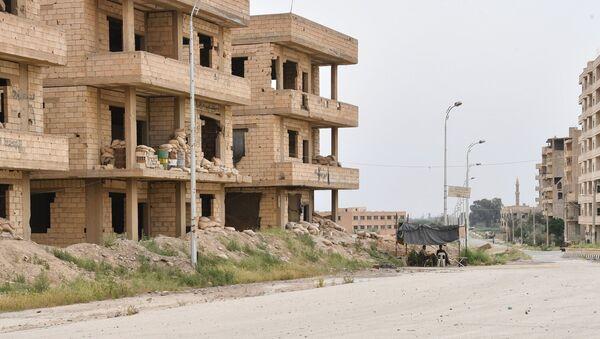 Ситуация на одной из улиц в Сирии - Sputnik Беларусь