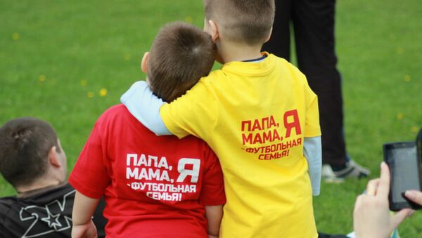 Фестываль Тата, мама, я - футбольная сям'я! - Sputnik Беларусь