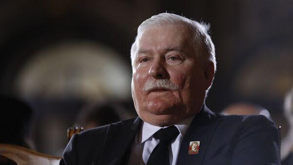 Бывший президент Польши Лех Валенса - Sputnik Беларусь