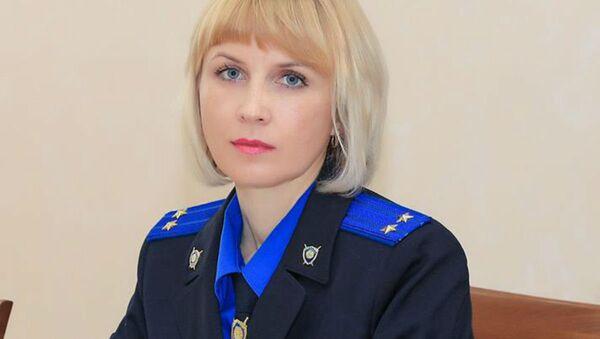 Официальный представитель УСК по Витебской области Светлана Сахарова - Sputnik Беларусь