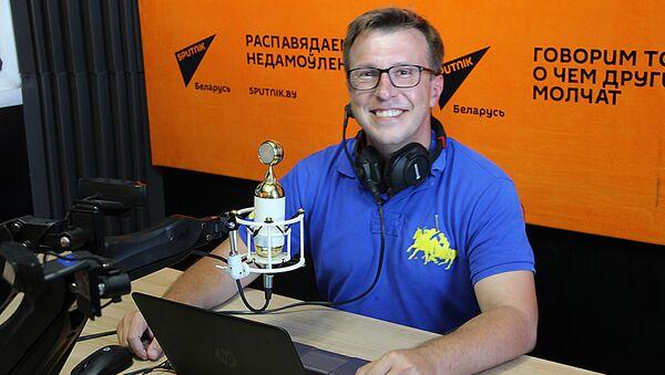 Российский журналист, ведущий и корреспондент телеканала Россия-24 Дмитрий Щугорев - Sputnik Беларусь