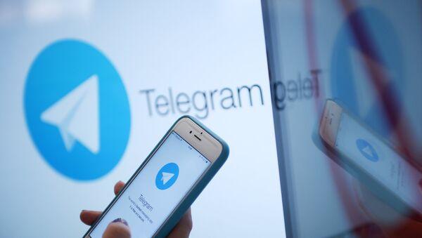 Telegram, архіўнае фота - Sputnik Беларусь