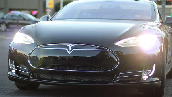 Tesla Model S - Sputnik Беларусь